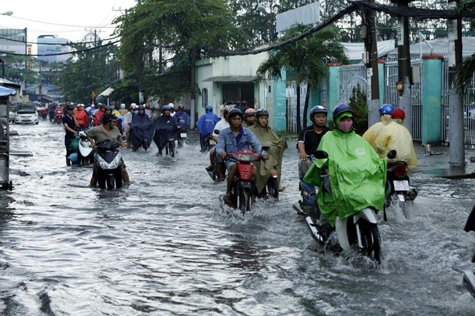 HCM City starts biggest ever anti-flood construction
