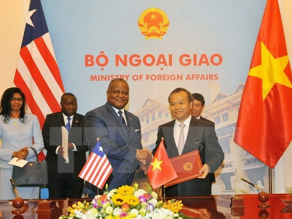 Việt Nam Liberia officially establish diplomatic ties
