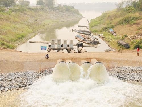 Irrigation in Mekong basin threatens VNs delta