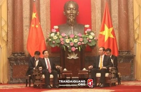 President hails deals with Chinese security ministry