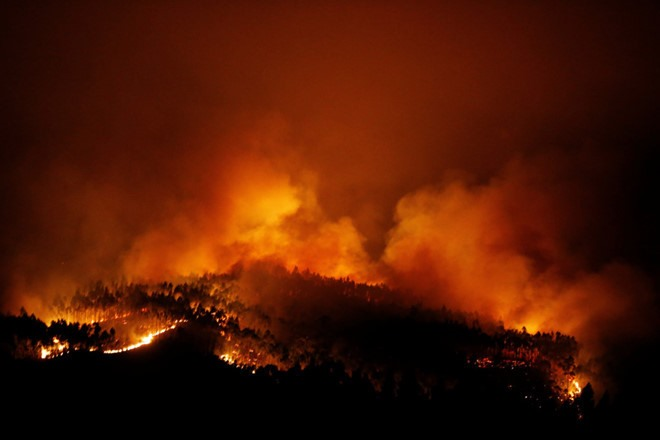 President sends sympathy to Portugal over fire losses