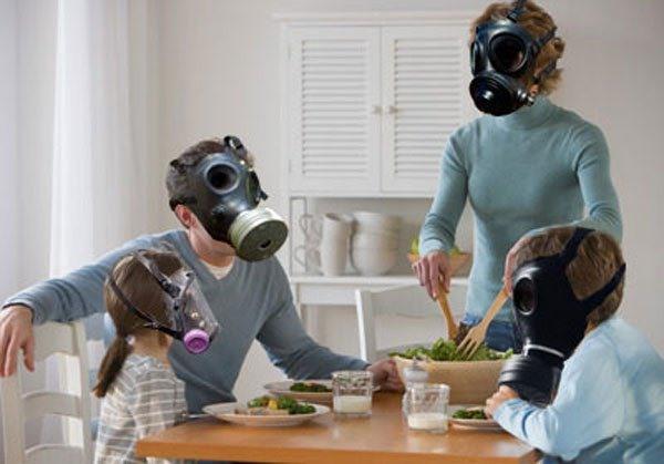 Indoor pollutants drive chronic respiratory disease