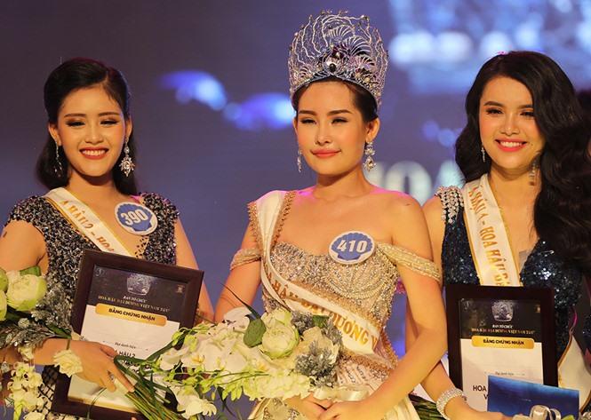Lê Âu Ngân Anh crowned Miss Ocean Việt Nam 2017