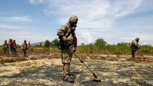 Thừa Thiên-Huế reviews trial dioxin remediation