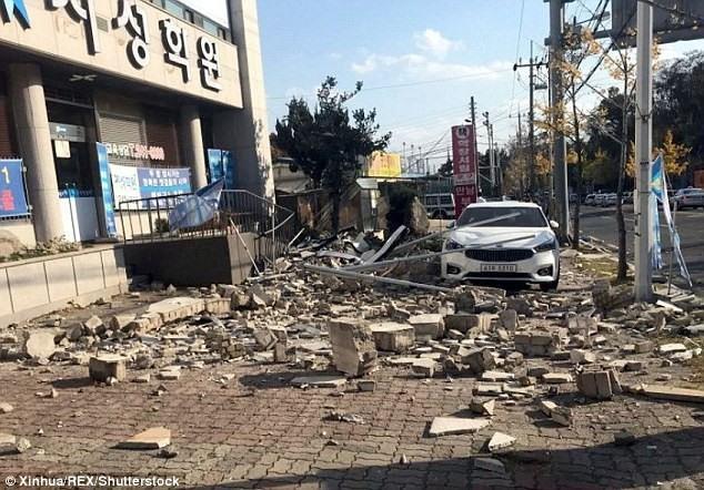 Việt Nam sends sympathy message over Pohang earthquake