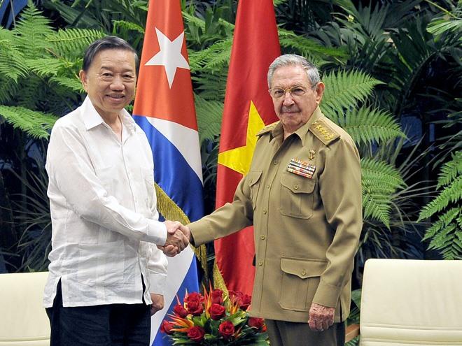 VN Cuba enhance security co-operation