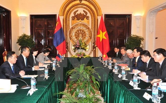 Việt Nam Mongolia enhance ties