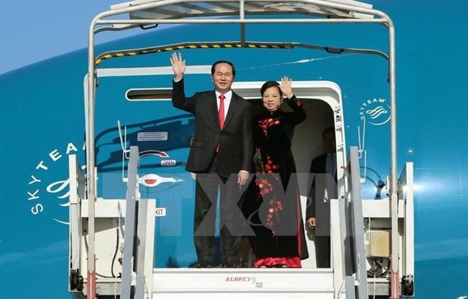 President urges strong Việt Nam-China partnership