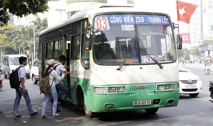 Hi-tech improves public transport