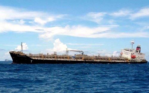 Stranded ship towed to Bình Thuận coast