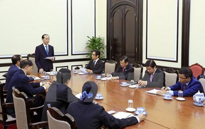 President meets ABAC Vietnam leaders