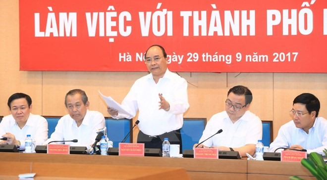 PM urges Hà Nội to build green smart city