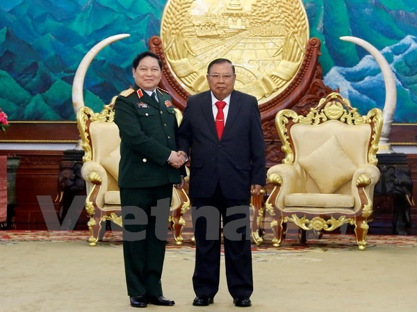 VN treasures ties with Laos: Defence Minister