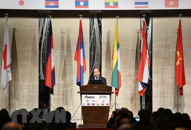 PM Phúc attends Mekong-Japan business forum