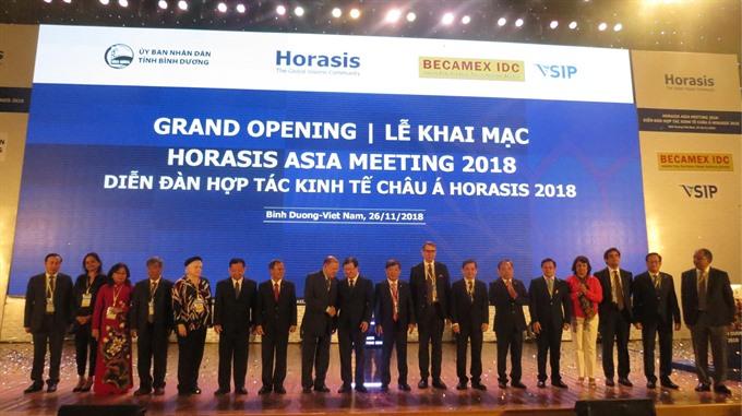 Horasis Asia Meeting 2018 opens