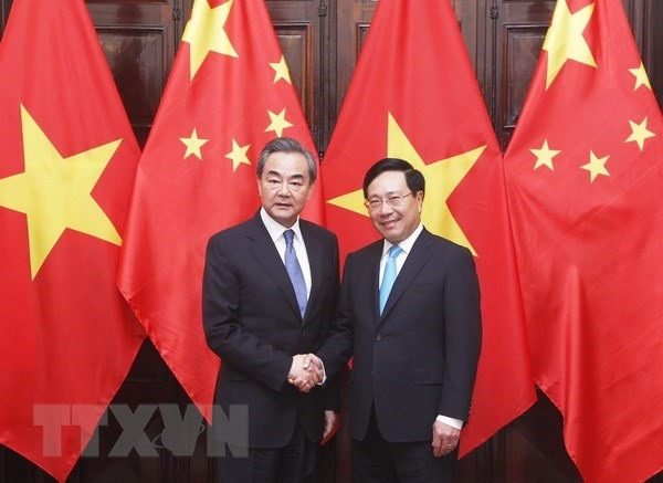 Deputy PM talks trade with Chinese Foreign Minister