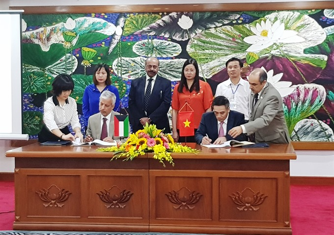 Kuwait supports poor communes in Hà Giang