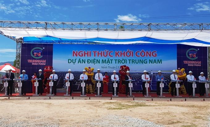 Construction of biggest solar plant starts