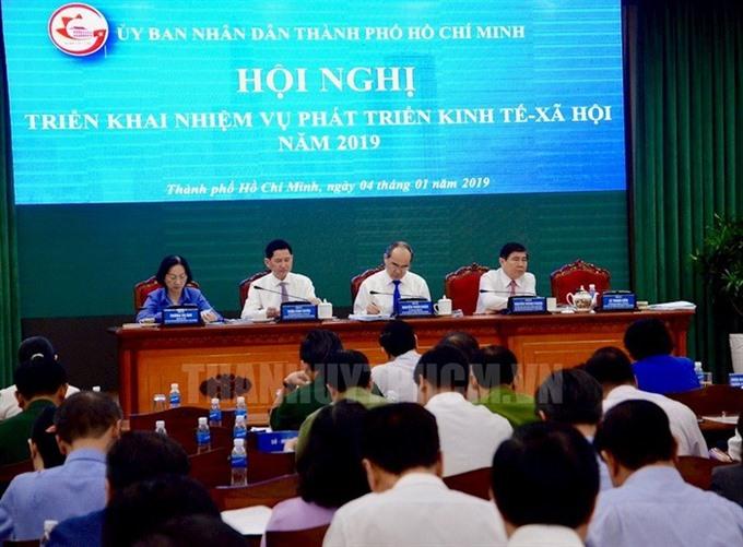 HCM City administration sets performance bar high for 2019