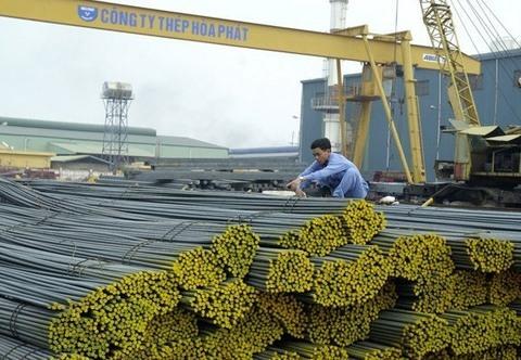 Hòa Phát construction steel posts sales hike