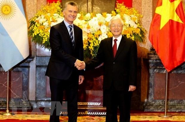Việt Nam Argentina issue joint statement