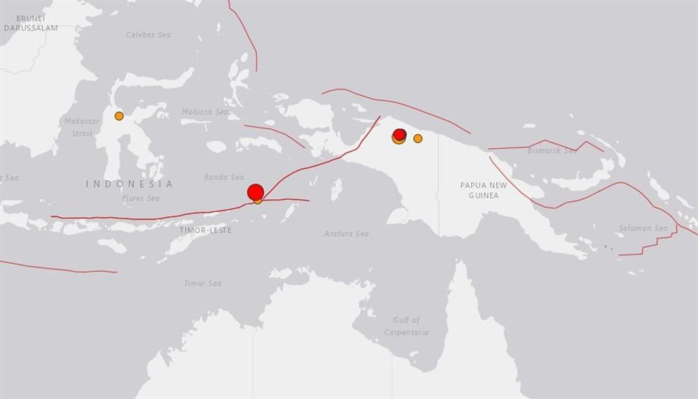7.3-magnitude quake hits Indonesia no tsunami threat
