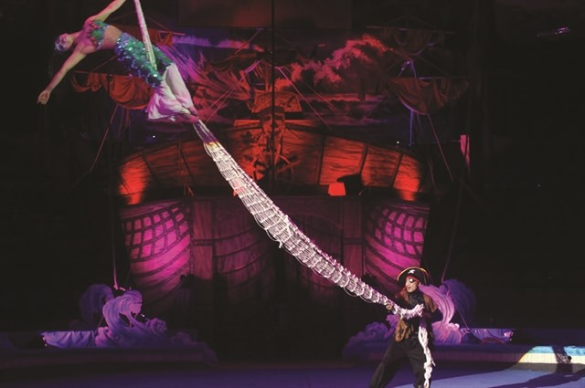 Circus performance to feature parrots for first time