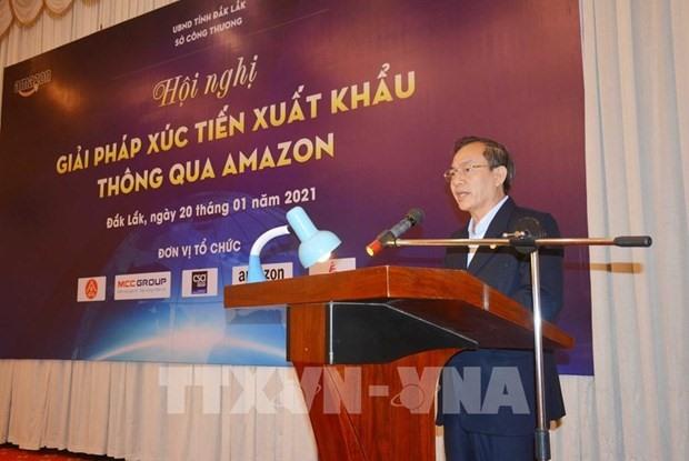 Đắk Lắk aims to boost exports via Amazon