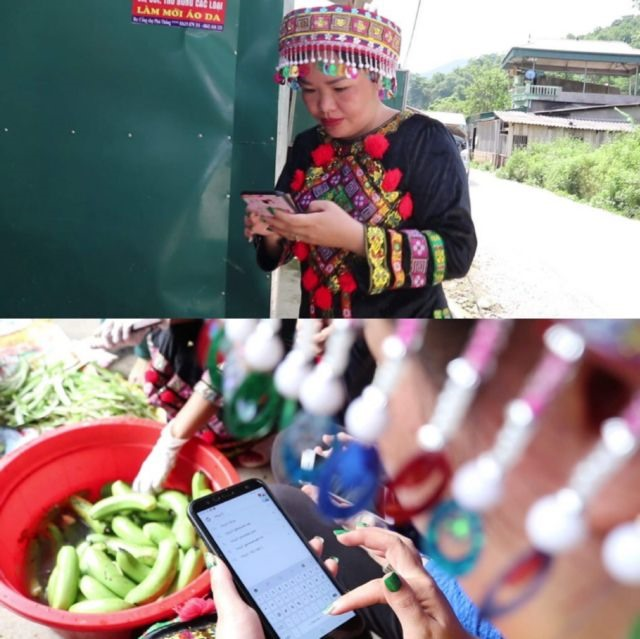 Bắc Kạns ethnic women sell local products online