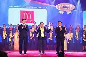 McDonalds Vietnam recognised as a sustainable development enterprise