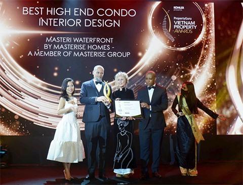Masteri Waterfront wins big at PropertyGuru Vietnam Property Awards 2020