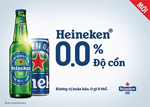 Heineken launches Heineken® 0.0 in Vietnam: Great taste with Zero alcohol
