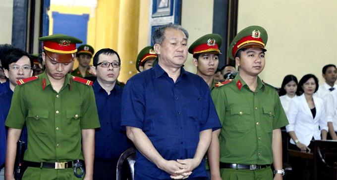 Phạm Công Danhs trial pauses