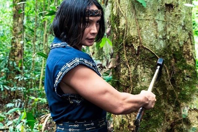 Thai Vietnamese martial arts actors work on new film