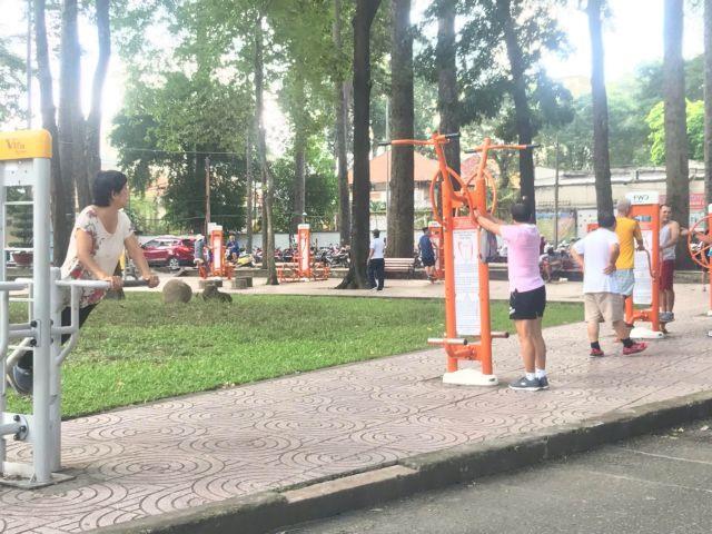 HCM City turns landfills into publicparks