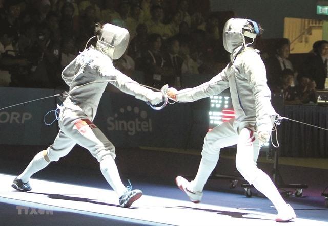 Fencer has Olympic hopes