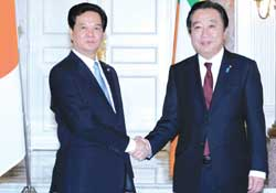 Prime Minister Dung supports Japan-Mekong co-operation
