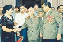 Gen Giap photos reflect comradeship