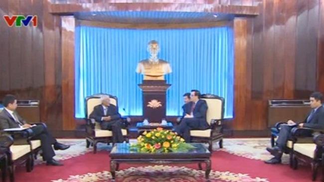 Indian Communist Party delegation visits Viet Nam