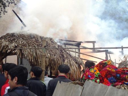 Two die in Ha Giang fire