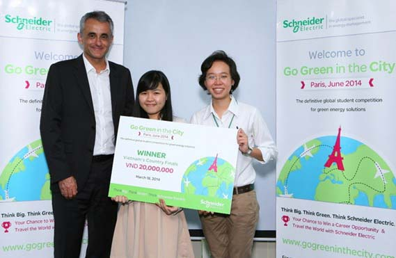 VN duo compete in intl energy challenge