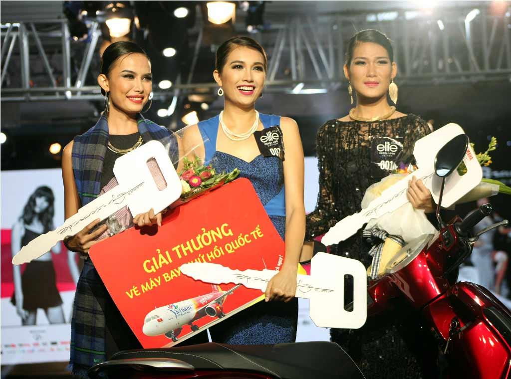 Ex-Miss Vietnam wins 1st Elite Model Look