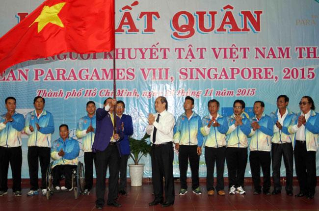 Para Games kick off in Singapore