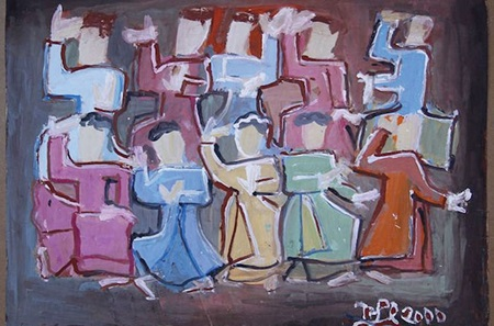 One of Nguyen Tu Nghiem's works