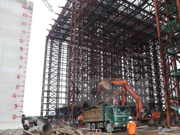 Brake failure blamed for scaffolding collapse