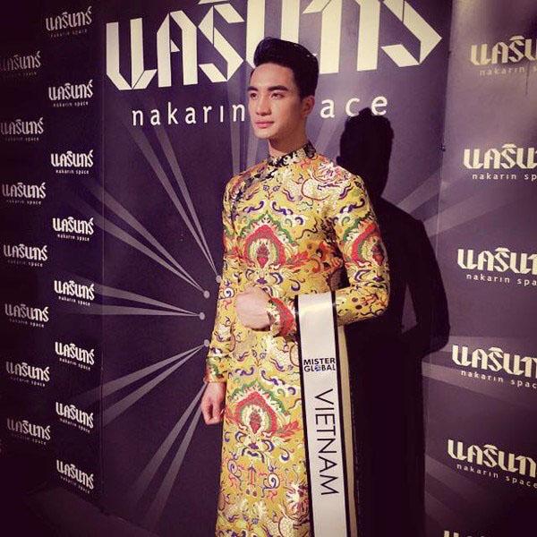 Taekwondo fighter wins Mister Global 2015 title