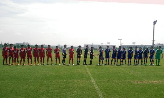 VN lose to Japan in U15 Football Exchange