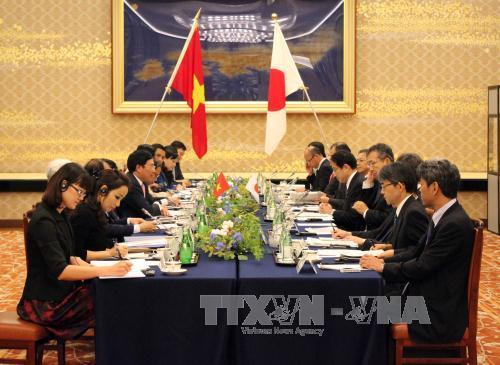VN Japan foster closer ties