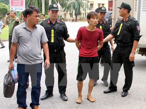 Yen Bai murder suspect arrested
