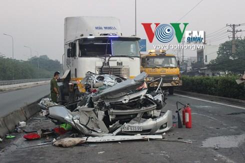 Fewer traffic deaths but still far too many